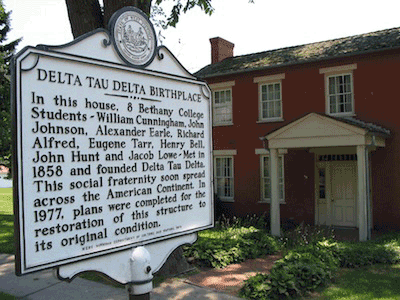 Delta Tau Delta Bethany House Photo